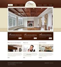 Interior Designsite Templates Etalon Home Decor Wordpress Template