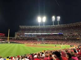 Great American Ball Park Section 110 Home Of Cincinnati Reds
