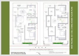 30 x 40 house plans west facing with vastu elegant modern southing