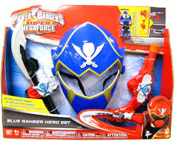 Power Rangers Bedroom Decor Power Rangers Super Megaforce Blue Ranger Hero Set Roleplay Toy