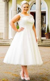 plus size wedding dresses with sleeves tea length plus size tea length wedding dresses short bridal gowns dressafford