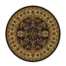 4 ft round rug home royalty black traditional area rug 8 foot round 4 ft round