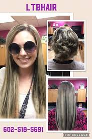 Dream Catchers Hair Extensions Before And After Hair Extensions Phoenix Sew In Weaves LTBHair Salon 88