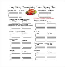 27 Sample Sign Up Sheet Templates Pdf Word Pages Excel