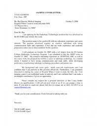 Radio Technician Cover Letter