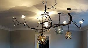 branch chandelier lighting by david wiseman firefly diy chandeliers home improvement awesome extraordinary
