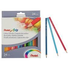 2314457 <b>Карандаши Pentel Colour pencils</b>, мягкое письмо