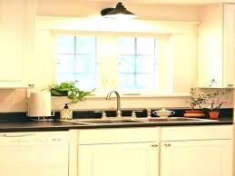 over the sink lighting. Kitchen Sink Lights Over Lighting Ideas  . The