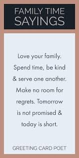 Family Time Quotes Fascinating Family Time Quotes To Reflect On And Share Great Quotes