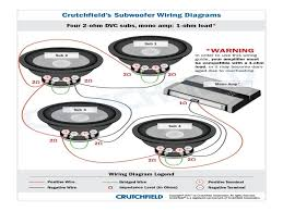 crutchfield wiring diagrams puzzle bobble com how to bridge a 4 channel amp to 1 sub at Amp Wiring Diagram Crutchfield