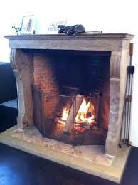 40 inch tall fireplace screens fireplce