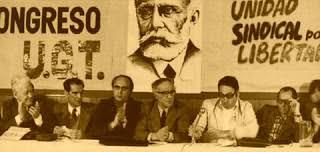 Resultado de imagen de UGT Nicolás Redondo en Malaga