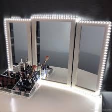 kit lights vertical led mirror light depot bulb makeup magnificent slim vanity lighted hollywood chende style home diy