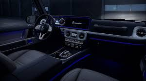 Mercedes Benz G Class Ambient Lighting With 64 Colours