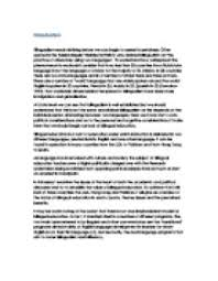 bilingual education in this essay i examine the issues at the page 1 zoom in