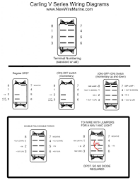 dpdt rocker switch pleasing carling toggle switch wiring diagram Dpdt Momentary Switch Wiring Diagram carling v1d2 inside carling toggle switch wiring Dpdt Toggle Switch Diagram