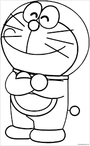 Give a try to doramon coloring game for kids which is full of cartoon characters such as doraemon, nobita, shizuka and takeshi. Happy Doraemon 1 Coloring Page Free Coloring Pages Cute Coloring Pages Cartoon Coloring Pages