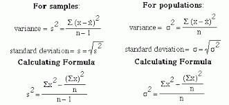 Variance Formula Explore Your Data Variance And Standard Deviation Make Me