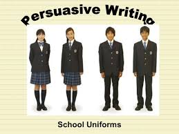 square graphic organizer lesson school uniforms