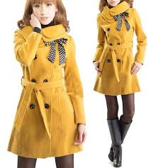 coat yellow yellow coat winter outfits winter coat warm classy double ted on front wool wool coat fashion fashionista fashionista