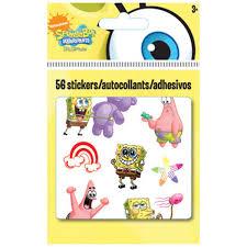Spongebob Stickers 56ct