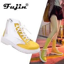 <b>Fujin 2019</b> New Arrival Transparent Rain <b>Boots Women</b> Waterproof ...
