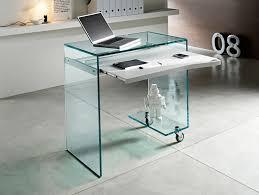 modern creative glass desk table design full dinner table door decorating ideas home