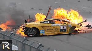 The Most Insane Race Car Crashes Caught on Camera - YouTube