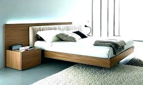 Low Profile Wooden Bed Frame Full Box Spring Queen Wood – MrsAnn