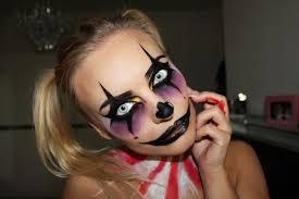 creepy clown make up tutorial