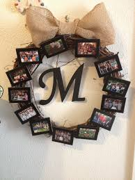 picture wreath with dollar tree picture frames a wreath from hobby lobby and the