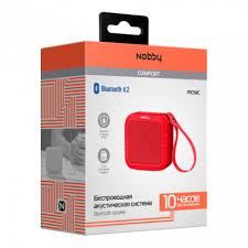Купить <b>Портативная колонка Nobby</b> Comfort <b>Picnic</b> красный по ...