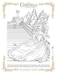 Probably all children know mickey, minnie, donald, daisy, goofy, pluto, little mermaid, lion king, woody from toy story and many other unforgettable characters from disney movies. Free Cinderella Printable Coloring Pages Disney Cinderella Freebie A Thrifty Mom Recipes Crafts Diy And More Cinderella Coloring Pages Coloring Pages Printable Coloring Pages