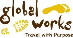 Image result for global works adventures logo