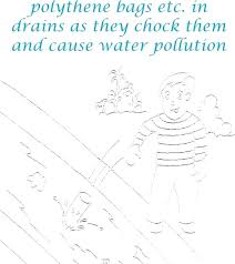 Water Coloring Picture Cute Drinking Water Coloring Pages