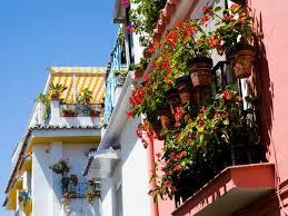balcony gardens. Spanish-Style Balcony Gardens Overflow With Beauty