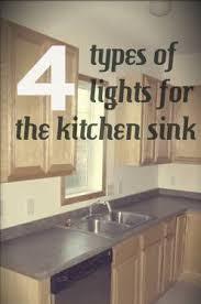 lighting above kitchen sink. Lovely Single Light Fixture Over Kitchen Sink For @track Lighting Above