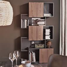 full size of decoration contemporary metal furniture scandinavian furniture bookcases glass covered bookshelves modern open bookcase