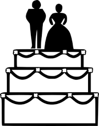 wedding cake topper clipart. Beautiful Clipart Wedding Cake Clip Art In Topper Clipart D