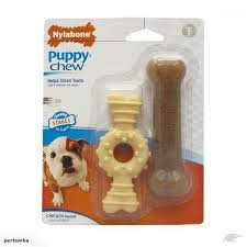 Nylabone Puppy Chew Ring Toy Pack Of 2