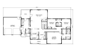 cool texas ranch house floor plans 7 one story style home office throughout house excellent texas ranch floor plans
