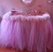 diy tulle tutu table skirt beautiful 148 best baby shower ideas images on of 56