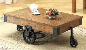 industrial rustic coffee table amazing rustic coffee tables with wheels industrial rustic coffee table with wheels