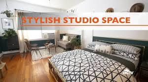 studio bedroom furniture. Stylish Studio Apartment Makeover - HGTV Bedroom Furniture M