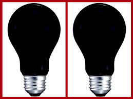 details about 2pk black bulbs party special occasion light bulb 120v 40w