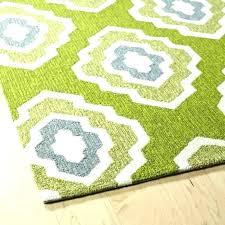 green geometric rug handmade indoor outdoor getaway apple 8 x lime indo