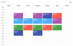 Course Schedule Maker Free Class Schedule Maker