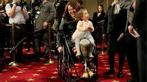 She previously was a … Tammy Duckworth Becomes First Us Senator In Office To Give Birth Bbc News