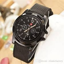solider military army mens watch sport style canvas fabric strap solider military army mens watch sport style canvas fabric strap belt man quartz wristwatch 4 colors