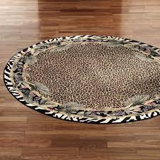 simple animal print area rugs large round designs